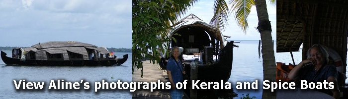 View Aline's photographs of Kerala and the Spice Boats