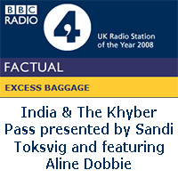 Listen to Radion 4 Excess Baggage featuring Aline Dobbie