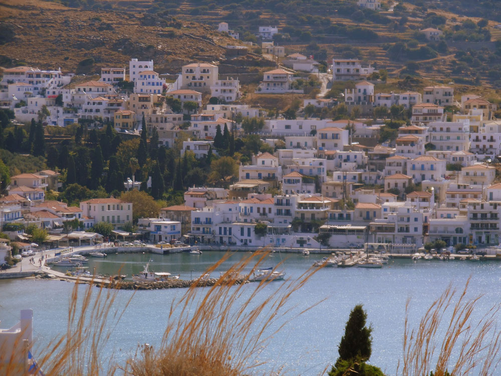 Andros in Greece